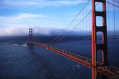 San Francisco Bay Area Golden Gate Bridge — Stock Photo