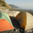 Backpacking lost coast in California — Stock Photo