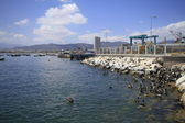 Harbour at Coquimbo Chilehar — Stock Photo