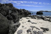 Beaches and harbour near Bahia Inglesia, Caldera, Chile — Stock Photo