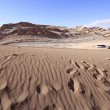 Valle del luna - valley of the moon, in atacama, chile — Stock Photo