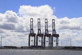 Port of Montevideo Uruguay — Stock Photo