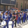Stock Photo: Marching band, oruro, Bolivia