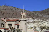 Scottys castle, Death Valley California — Stock Photo