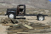 Derelict automobile in Bodie California — Stock Photo