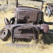 Abandoned car in Bodie ghost town — Stock Photo