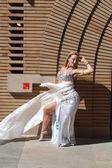 屋外のダンサー — ストック写真