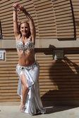 Dancer Outdoor — Stock Photo