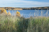 Ozerninskoe reservoir — Stock Photo