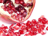 Fruit composition from garnet berries — Stock Photo