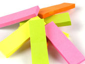 Office composition. Self-adhesive notes — Stock Photo