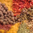 Close-up of Spices pepper cloves — Stock Video