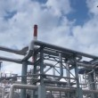 Plant for processing of associated oil gas. — Stock Video #12453996