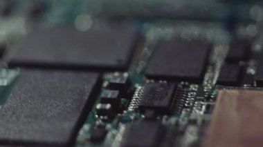 Printed circuit board — Stock Video