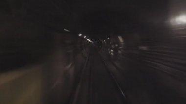 Subway tube the underground — Stock Video
