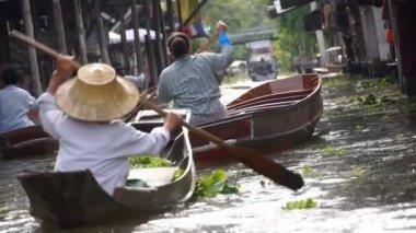 Water market — Stockvideo