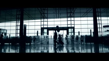 Airport — Stock Video