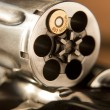 357 MAGNUM REVOLVER CARTRIDGES DRUM — Stock Photo #12506284