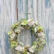 Stock Photo: FLORAL WREATH