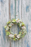 FLORAL WREATH — Stock Photo