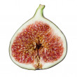Half of a fig — Stock Photo