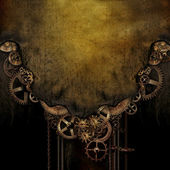 Steam Punk Background — Stock Photo