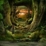 groen paradijs — Stockfoto