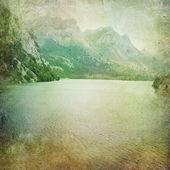 Fondo de paisaje vintage — Foto de Stock