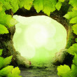 Green Paradise Background — Stock Photo