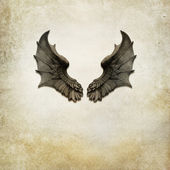 Dragon wings background — Stock Photo