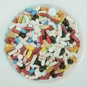 Mnoho drog pozadí — Stock fotografie