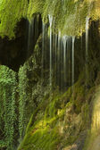 Mossy waterfall — Stock Photo