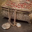 Stok fotoğraf: Antique jewelry box