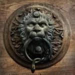 Vintage doorknocker — Stock Photo #39806293
