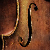 Vintage cello background — Stock Photo