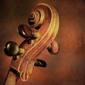 Vintage cello background — Foto Stock