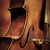 Vintage cello background — Stock Photo