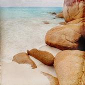 Rêve plage grunge background — Photo