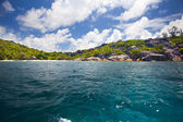 Beautiful Island of the Seychelles — 图库照片