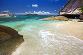 Dream Beach - Felicité Island Seychelles — Stock Photo