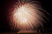 Awsome Fireworks Background — Stock fotografie