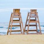 Baywatch chairs — Stock Photo #13612740