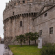 Stock Photo: Fortified apse of Cathedral of Avila