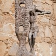 Bronze sculpture, alongside walls of Avila — Stock Photo #19353945