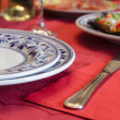 Royalty-Free Stock Photo: Christmas dinner table