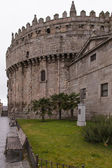 Fortified apse of the Cathedral of Avila — Stock Photo