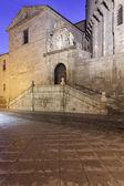 Oost-poort van de kathedraal van avila — Stockfoto