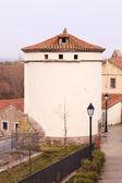 Old pigeon, rebuilt (Avila). Spain. — Stock Photo
