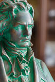 Mozart sculpture — Stock Photo
