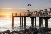 Seaside pier — Stock Photo